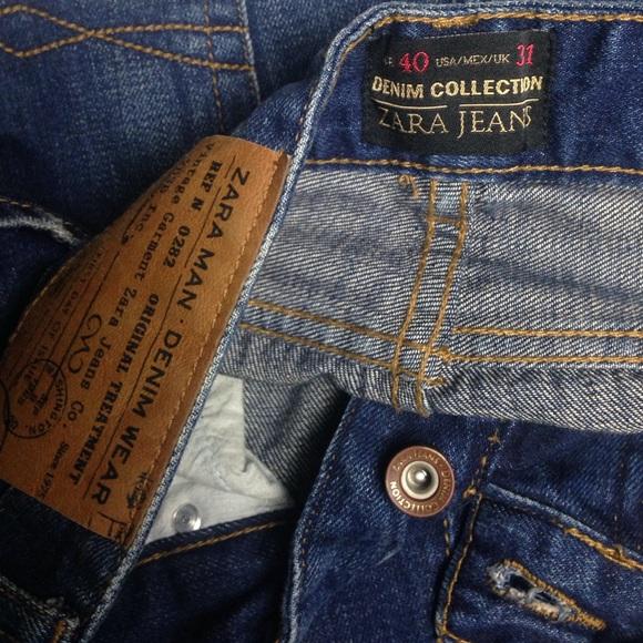 4d43e6d4 ZARA MAN Jeans | Denim Collection Excellent Conditio | Poshmark
